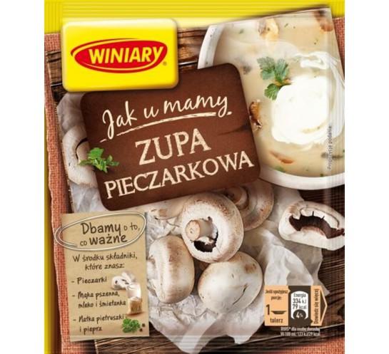 WINIARY -  ZUPA PIECZARKOWA 'JAK U MAMY' 45G