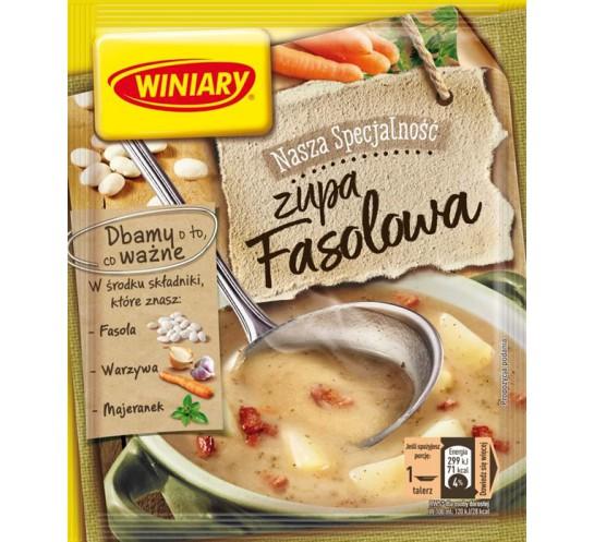WINIARY -  ZUPA FASOLOWA  65G
