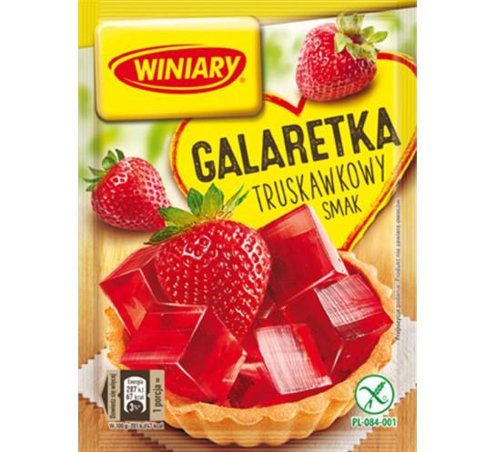WINIARY - GALARETKA POZIOMKOWA 75G