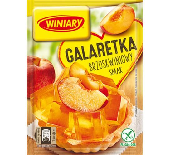 WINIARY - GALARETKA BRZOSKWINIOWA 75G