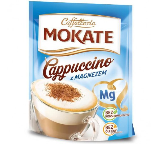 MOKATE - CAPPUCINO MILANO Z MAGNEZEM 110G