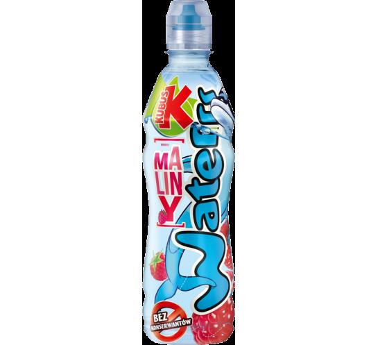 MASPEX - KUBUŚ WATERR 0.5L.MALINA