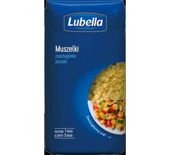 LUBELLA - MAKARON MUSZELKA DROBNA 500G