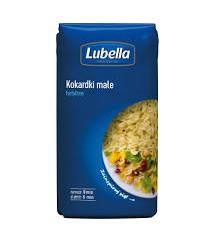 LUBELLA - MAKARON KOKARDKA MAŁA 400G