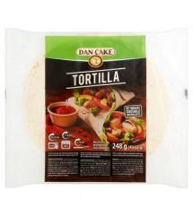DAN CAKE - TORTILLA WRAPS 4x62G