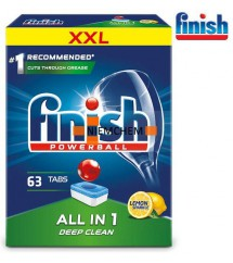 FINISH - TABLETKI ALL IN ONE 63 LEMON