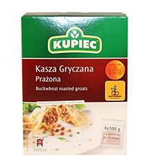KUPIEC - KASZA GRYCZANA PRAŻONA 4x100G