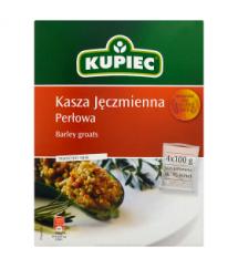 KUPIEC - KASZA JĘCZMIENNA PERŁOWA 4x100G