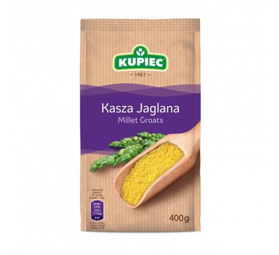 KUPIEC - KASZA JAGLANA FOLIA 400 G