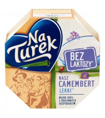TUREK - SER NASZ CAMEMBERT BEZ LAKTOZY 120G