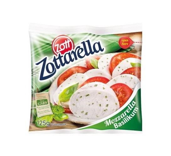 ZOTT - ZOTTARELLA BAZYLIA 125G