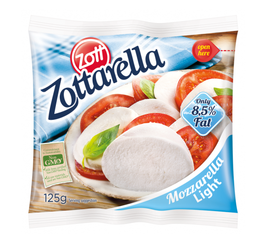 ZOTT - ZOTTARELLA LIGHT 125G
