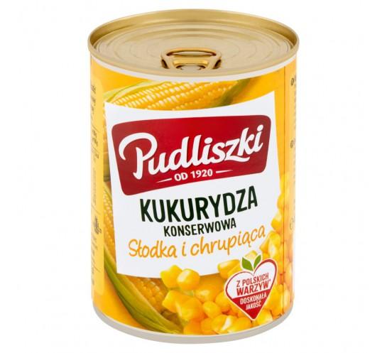 PUDLISZKI - KUKURYDZA KONSERWOWA 400G