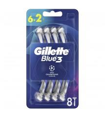 GILLETTE - BLUE 3 UCL 6+2 SZT