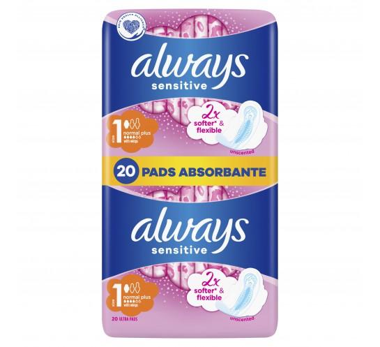 Always -  Ultra Sensitive Normal Plus DUO (2x10)