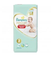 PAMPERS  - Premium Pieluchomajtki Value Pack S3 48SZT