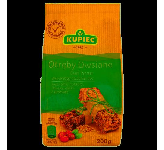 KUPIEC - OTRĘBY OWSIANE 200G