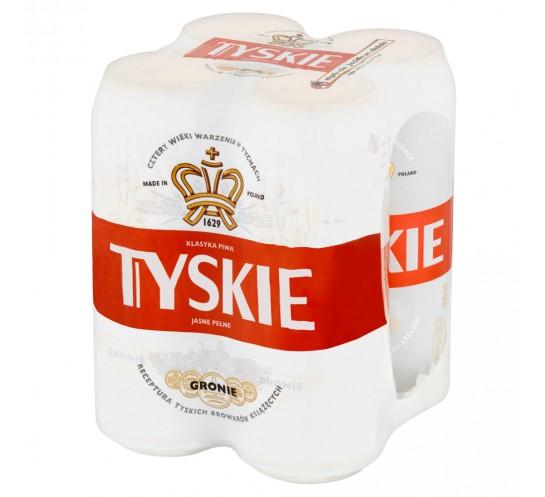TYSKIE GRONIE PUSZKA 0,5L 4-PAK