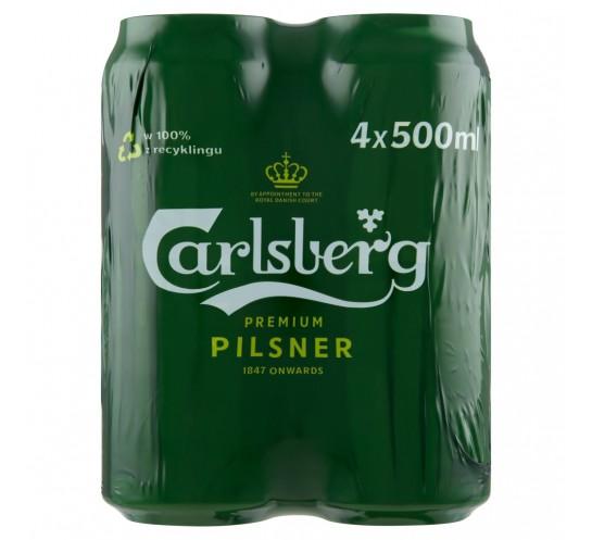 CARLSBERG PUSZKA 0,5L 4-PAK