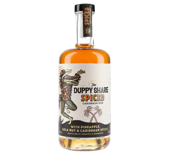 DUPPY SHARE SPICED 37,5% 0,7l
