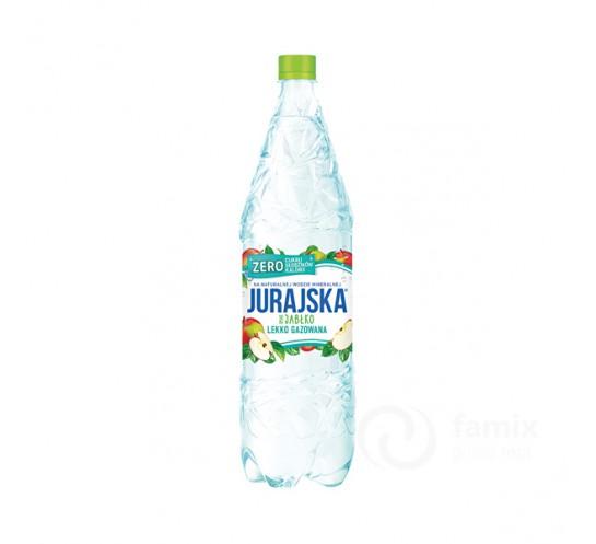 JURAJSKA - WODA LEKKO GAZ. 1,5L JABŁKO ZERO CUKRU
