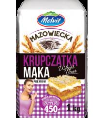MELVIT - MĄKA MAZOWIECKA KRUPCZATKA TYP 450 1KG