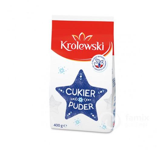 KRÓLEWSKI - CUKIER PUDER 400G