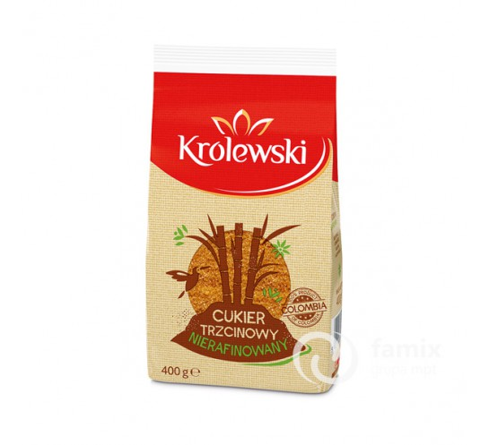 KRÓLEWSKI - CUKIER TRZCINOWY 400G