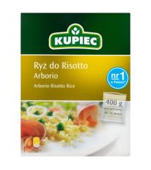 KUPIEC -  RYŻ ARBORIO DO RISOTTO 400G