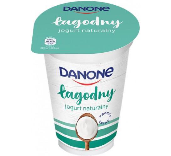 DANONE - JOGURT NATURALNY 165G