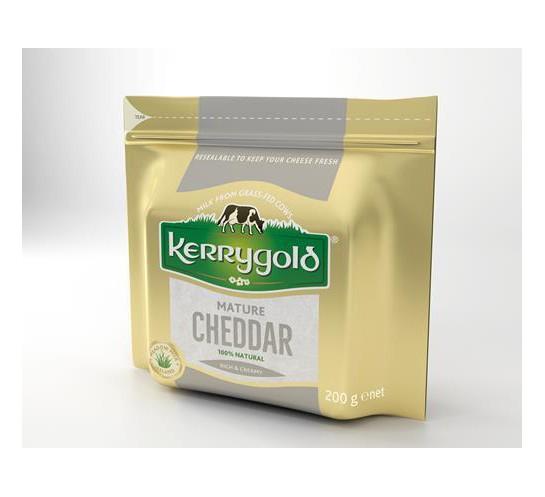 KERRYGOLD -  SER CHEDDAR MATURE  200G