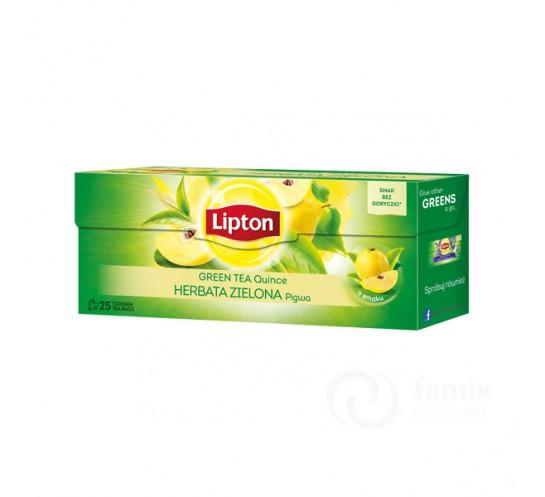 LIPTON - HERBATA ZIELONA Z PIGWĄ 25T