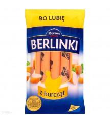 BERLINKI - PARÓWKI W KURCZAKA 250G