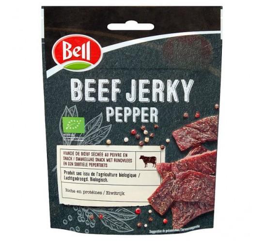 BELL - BEEF JERKY PEPPER 25G