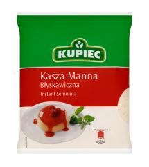 KUPIEC - KASZA MANNA BŁYSKAWICZNA 400G