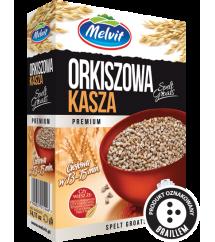 MELVIT - KASZA ORKISZOWA 4X100G