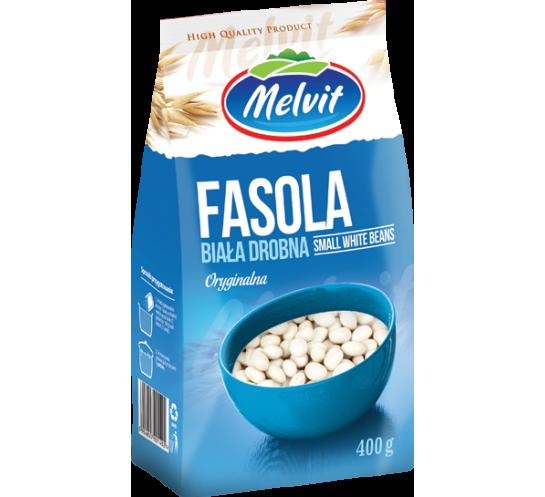 MELVIT - FASOLA BIAŁA DROBNA 400G