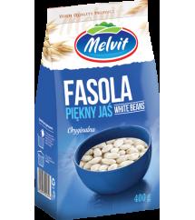 MELVIT - FASOLA BIAŁA PIĘKNY JAŚ 400G
