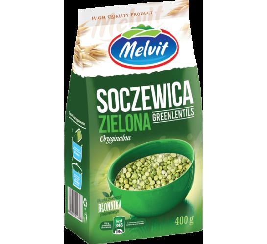 MELVIT - SOCZEWICA ZIELONA 400G