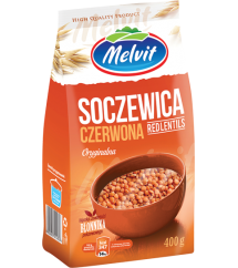 MELVIT - SOCZEWICA CZERWONA 400G