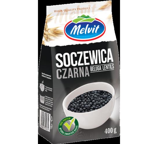 MELVIT - SOCZEWICA CZARNA 400G