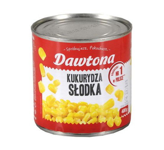 DAWTONA - KUKURYDZA KONSERWOWA 400G