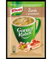 KNORR - GORĄCY KUBEK ŻUREK Z GRZANK.17G