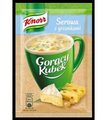 KNORR -  GORĄCY KUBEK SEROWA Z GRZ.19G