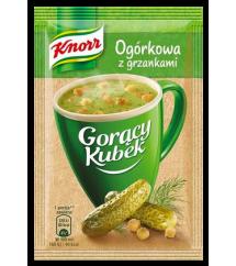 KNORR -  GORĄCY KUBEK OGÓRK.Z GRZ.14G