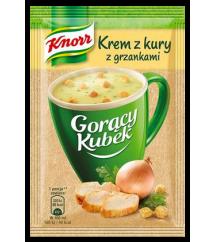 KNORR -  GORĄCY KUBEK KREM Z KURY Z MAKAR.16G