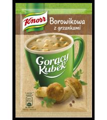 KNORR -  GORĄCY KUBEK BOROWIKOWA Z GRZ.16G