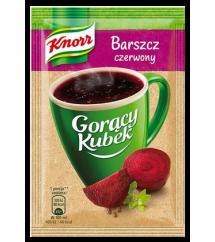 KNORR -  GORĄCY KUBEK BARSZCZ CZERW.12G