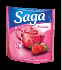 SAGA - HERBATA MALINA 20T