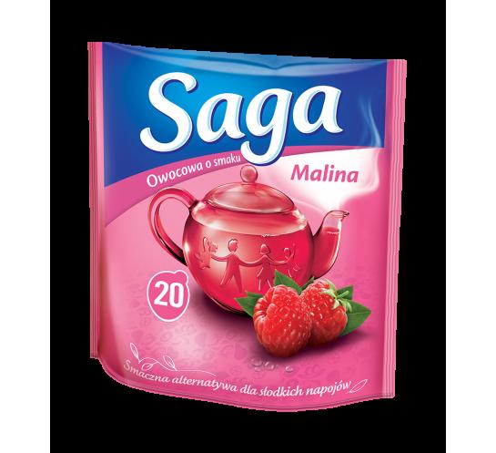 HERBATA SAGA EX. MALINA 20T